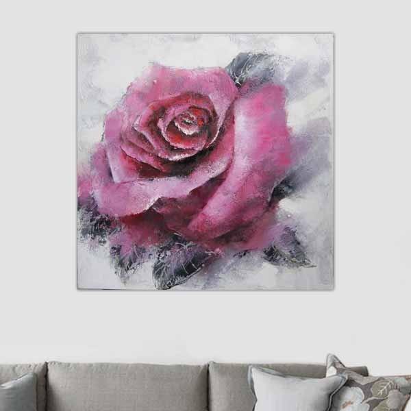 Bouton de rose evanescent