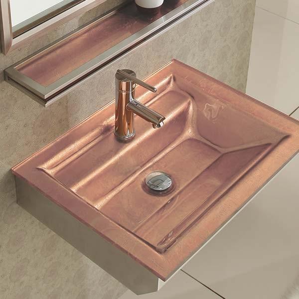 Ensemble de salle de bain en verre quarto for Verre de salle de bain