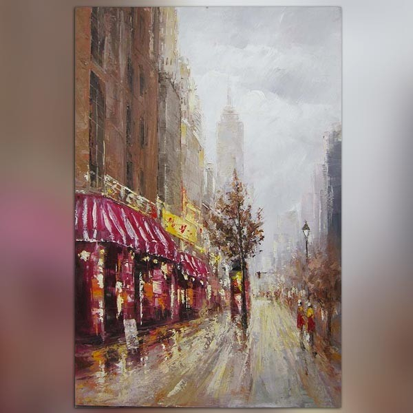 Tableau contemporain new york 180 x 120 - Tableau de new york ...