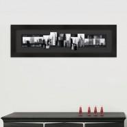 Toile 3D New York noir et blanc
