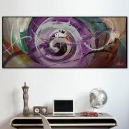 Peinture spiralée