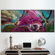 panoramique poisson abstrait