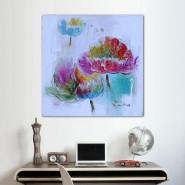 Fleur à l'aquarelle