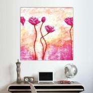tableau de rose fleuries