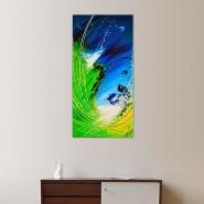 composition abstraite autour de la mer