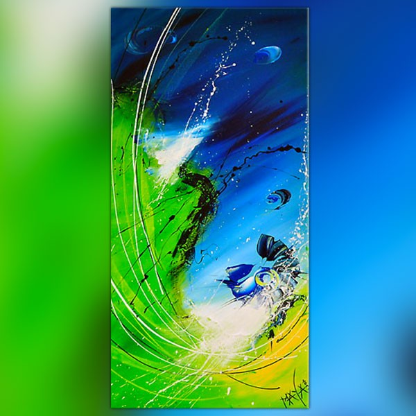 pin tableau peinture mer - photo #42