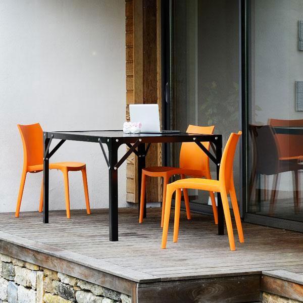 Table Repas Design Industriel Meuble De M Tier