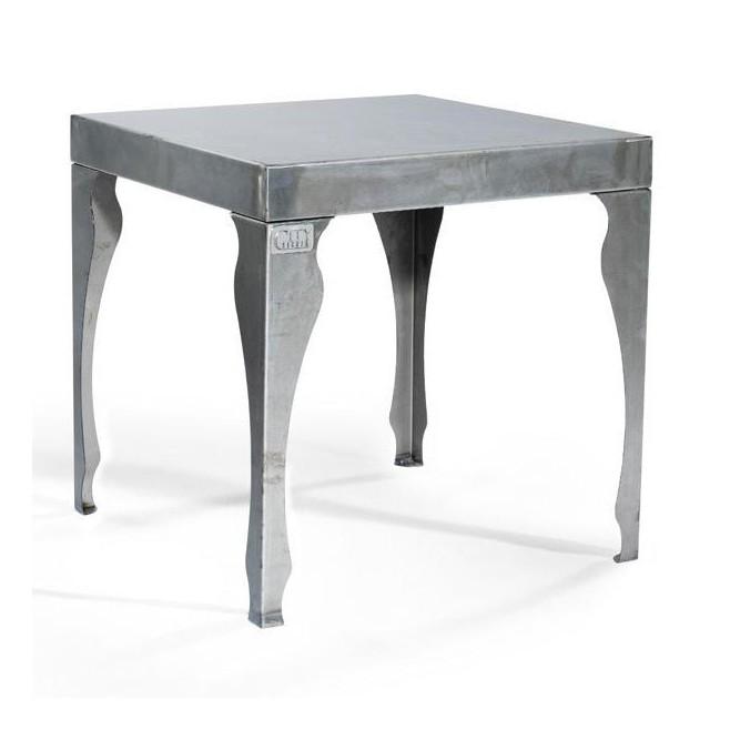 table basse acier 30 Incroyable Table Basse Acier Brossé Iqt4
