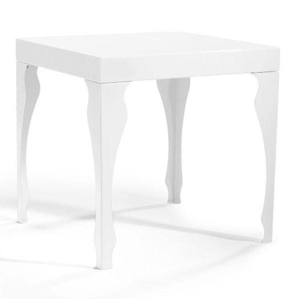 table basse acier baroque 50x50x50cm. Black Bedroom Furniture Sets. Home Design Ideas