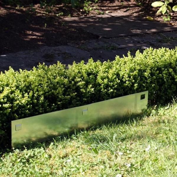 bordure pelouse separation jardin acier 195 cm. Black Bedroom Furniture Sets. Home Design Ideas