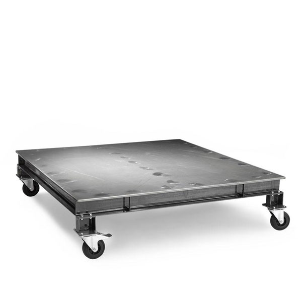 Table basse acier Wheely