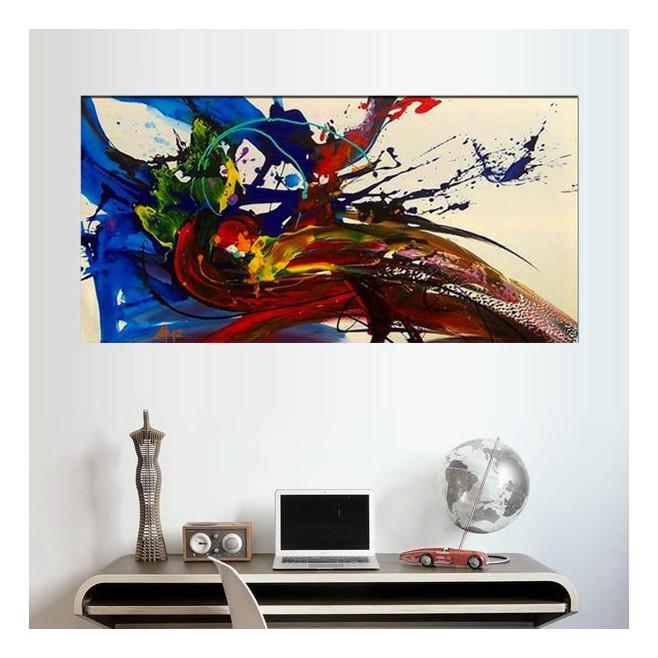 peinture paon