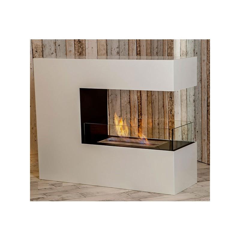 grande chemin e thanol romane 100 x 90 x 35 cm. Black Bedroom Furniture Sets. Home Design Ideas