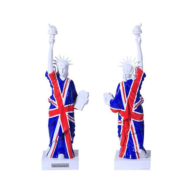 Statue de la liberté Union Jack
