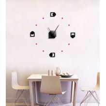 Horloge Classique XL à Personnaliser
