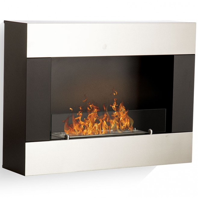 foyer mural bio glamfire. Black Bedroom Furniture Sets. Home Design Ideas