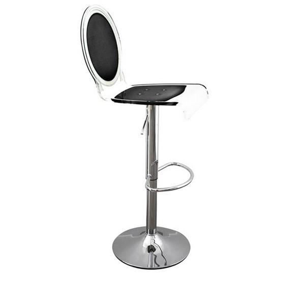 tabouret bar transparent sixteen. Black Bedroom Furniture Sets. Home Design Ideas