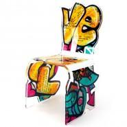 Chaise street art