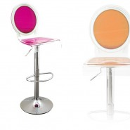 Tabouret transparent Sixteen