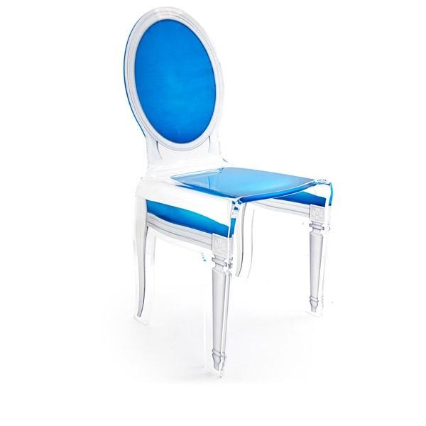 Chaise transparente sixteen en plexiglass - Chaise en verre transparente ...