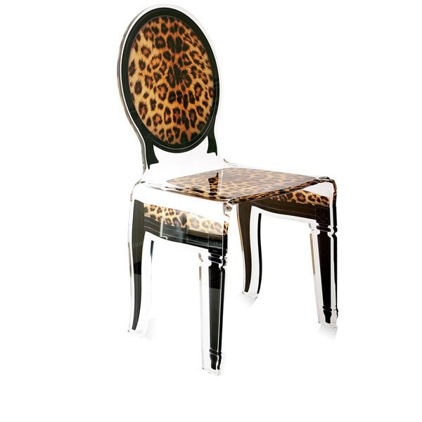 chaise transparente sixteen en plexiglass. Black Bedroom Furniture Sets. Home Design Ideas