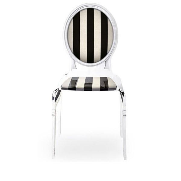 chaise transparente sixteen en plexiglass. Black Bedroom Furniture Sets. Home Design Ideas
