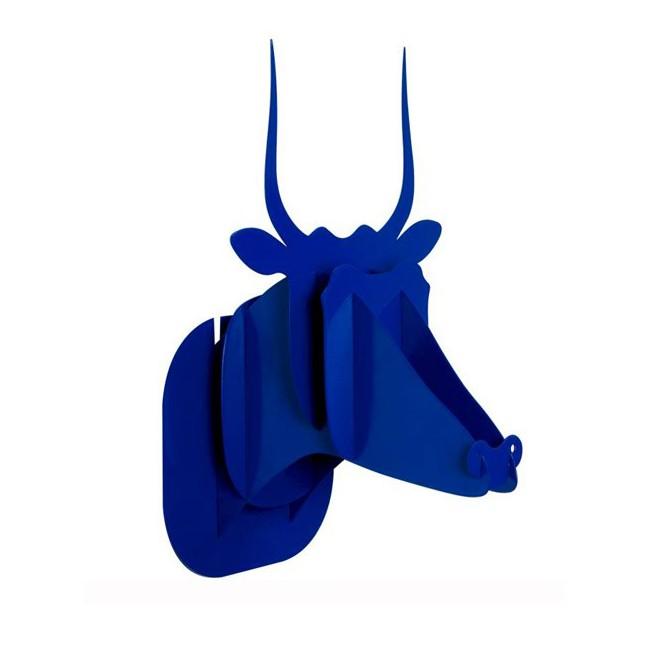 Trophée de chasse métal Antilope