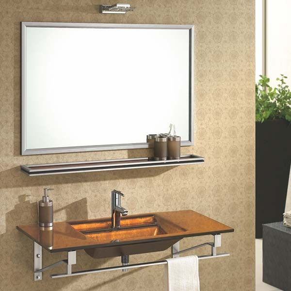 Lavabo verre arp ge et accessoires de salle de bain for Lavabo salle de bain en verre