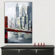 Tableau contemporain Golden Gate