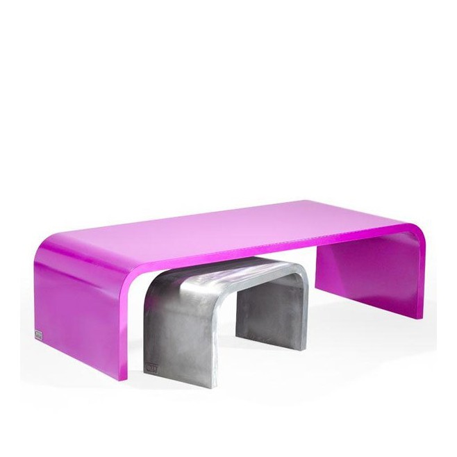 Table basse rectangulaire Halfy