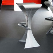 Tabouret de bar Spline curves