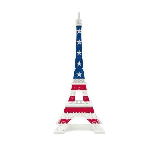 Tour Eiffel drapeau Américain Sam by Merci Gustave