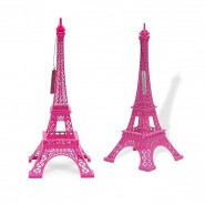 Tour Eiffel rose