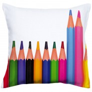 Coussin crayon