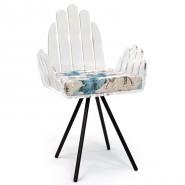 Chaise coussin motif éléphant
