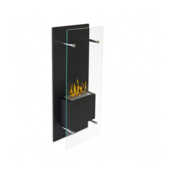 chemin e murale vitr e simply. Black Bedroom Furniture Sets. Home Design Ideas