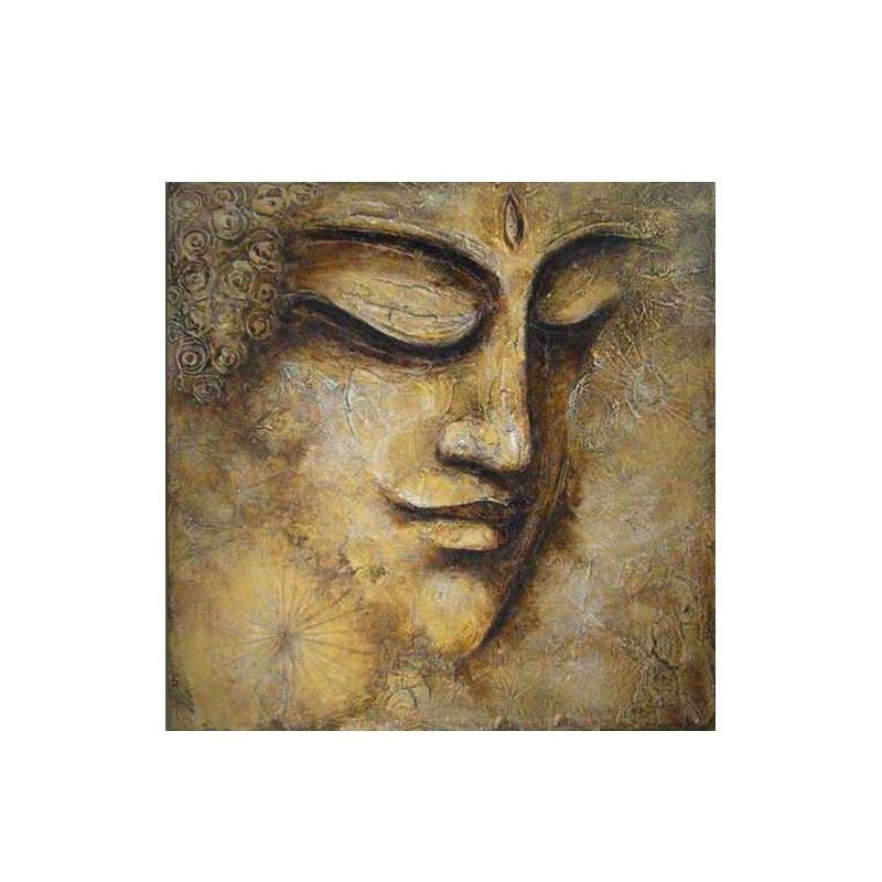 Peinture bouddha doré