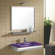 meuble salle de bain et lavabo verre. Black Bedroom Furniture Sets. Home Design Ideas