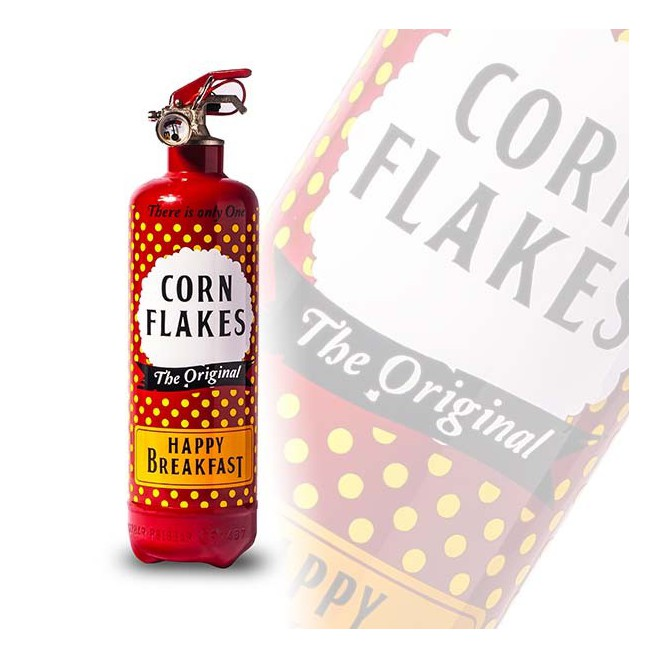 Fire Design Corn Flakes