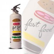 Appareil d'extinction design Fast Food