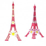 Tour Eiffel fleur marguerite