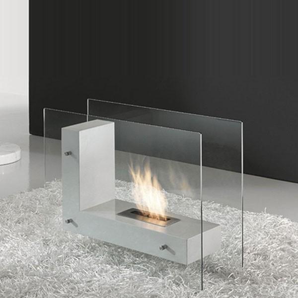 chemin e thanol luna foyer poser au sol 3kw. Black Bedroom Furniture Sets. Home Design Ideas