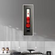 tableau de fleur bleues. Black Bedroom Furniture Sets. Home Design Ideas