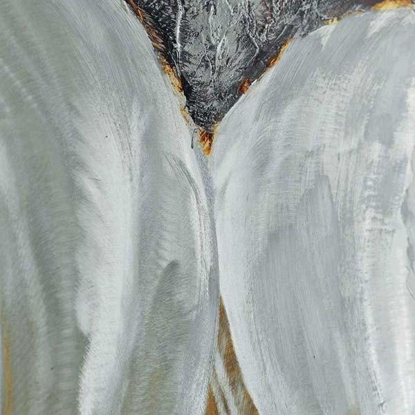 peinture sur aluminium les illets blancs 60x120cm. Black Bedroom Furniture Sets. Home Design Ideas
