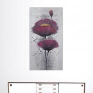 Peinture pavot violet
