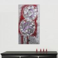 peinture abstraite fleur