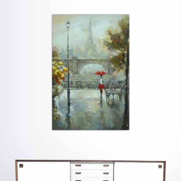 Peinture de Paris, la promenade historique