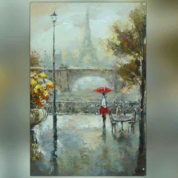 Tableau Parisien Vue De Promenade Paris Wikao