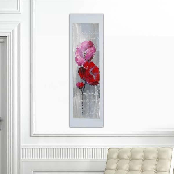 Tableau fleurs entrelacées
