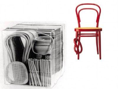 thonet, chaise et envoi
